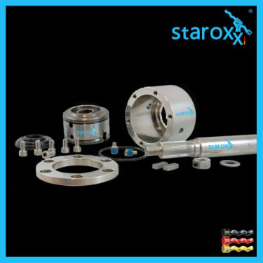 staroxx® curved tooth joint, coupling rod for Eugen PETER U400 pump